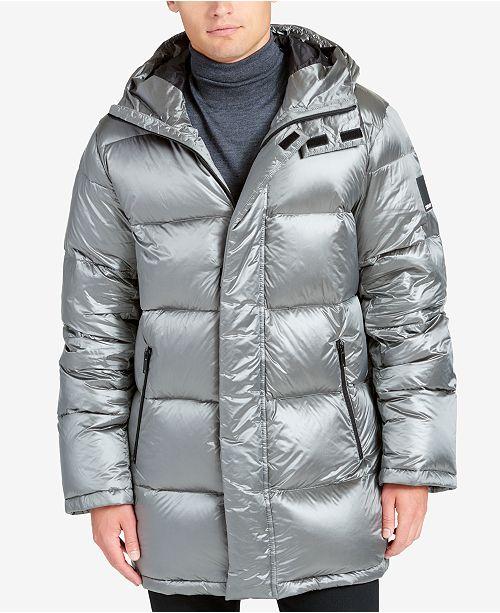 59abdff27 DKNY Men's Full-Length Puffer Jacket & Reviews - Coats & Jackets ...