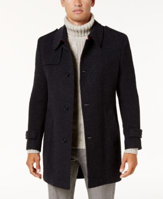 Kenneth cole mens military jacket winter coat