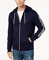 Tommy Hilfiger Denim Men s Dash Logo-Print Full-Zip Hoodie 0d46e79ae8