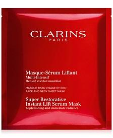 Super Restorative Instant Lift Serum Mask, 5-Pk.