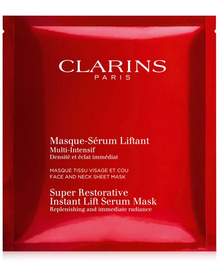 Clarins - Super Restorative Instant Lift Serum Mask, 5-Pk.