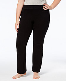 HUE® Women's Plus Size Boot Cut Leggings