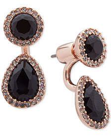 Ivanka Trump Pavé & Stone Jacket Earrings