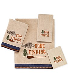 Gone Fishing Bath Towel Collection