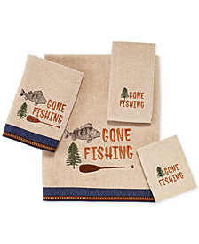 "Avanti Gone Fishing 16"" x 30"" Hand Towel"