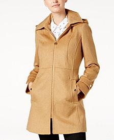 MICHAEL Michael Kors Zip-Front Walker Coat