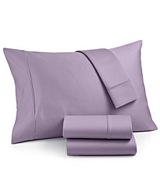 AQ Textiles Landry 4-Pc. Queen Sheet Set, 1200 Thread Count Combed Cotton