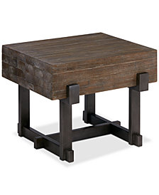 Timber End Table, Quick Ship