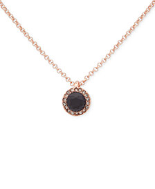 Ivanka Trump 2-Pc. Set Colored Crystal Pendant Necklaces