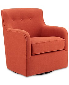 Ali Swivel Chair, Quick Ship