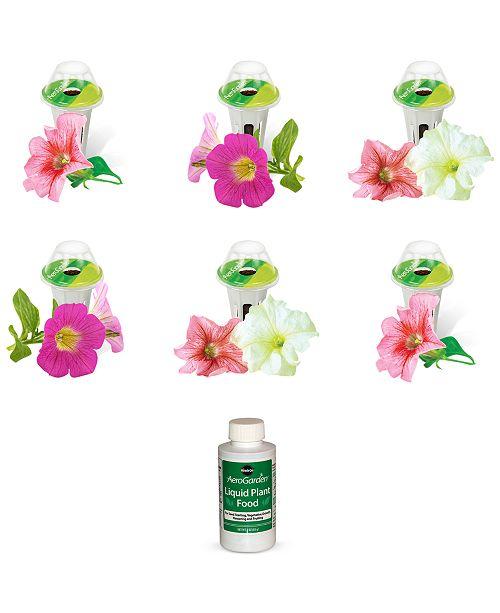 AeroGarden  Cascading Petunias 6-Pod Refill Kit