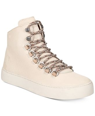 Frye Women's Lena Hiker High Top Sneaker
