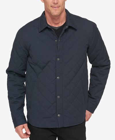 Levi's® Men's Diamond Quilt Shirt Jacket - Coats & Jackets - Men ... : mens quilted shirt - Adamdwight.com