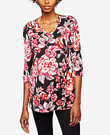 A Pea In The Pod Maternity Floral-Print Tunic