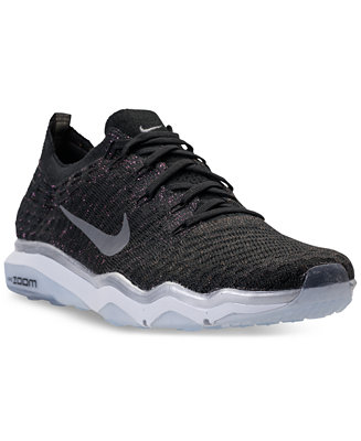 16551eabb30d Nike Women s Air Zoom Fearless Flyknit Metallic Running Sneakers from  Finish Line   Reviews - Finish Line Athletic Sneakers - Shoes - Macy s