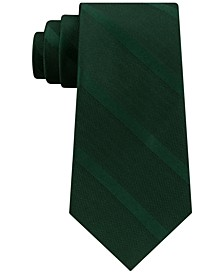 Men's Textured Stripe Silk Tie
