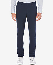 Perry Ellis Men's Portfolio Extra Slim-Fit Solid Tech Dress Pants