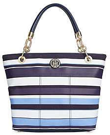 Tommy Hilfiger Signature Striped Tote