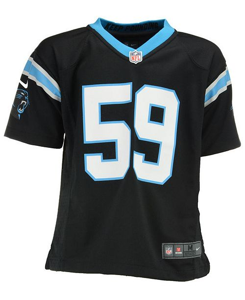 sneakers for cheap 7a7a0 6793c Luke Kuechly Carolina Panthers Game Jersey, Little Boys (4-7)