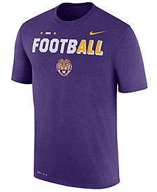 Nike Men's LSU Tigers Football Legend T-Shirt