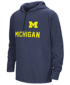 Colosseum Michigan Wolverines Hotshot Quarter-Zip Hoodie, Big Boys (8-20)