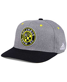 adidas Columbus Crew SC Gray Adjustable Cap