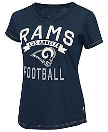 Touch By Alyssa Milano Women's Los Angeles Rams MVP T-Shirt