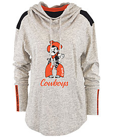 Pressbox Women's Oklahoma State Cowboys Gibson Long Sleeve Hooded Sweatshirt