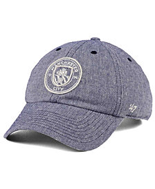 '47 Brand Manchester City Club Team Strike Through CLEAN UP Cap
