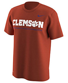 Nike Men's Clemson Tigers Fresh Trainer Hook T-Shirt