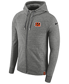 Nike Men's Cincinnati Bengals Full-Zip Hoodie