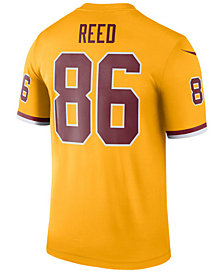 Nike Men's Jordan Reed Washington Redskins Legend Color Rush Jersey