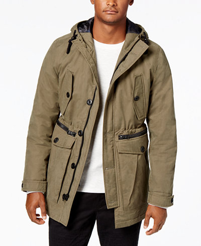 American Rag Men's Cargo Parka, Created for Macy's