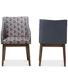 Kinlee Lounge Chair (Set Of 2), Quick Ship