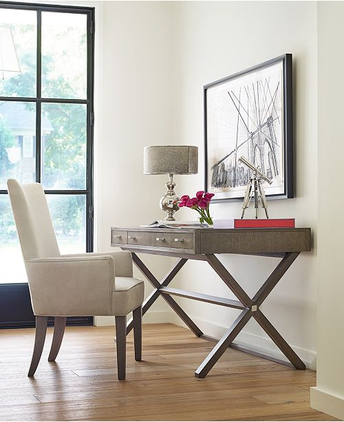 Furniture Rachael Ray Highline Desk Console Table