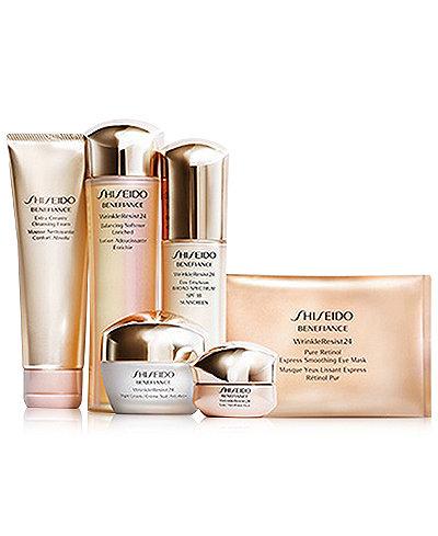 Shiseido Benefiance WrinkleResist24 Collection