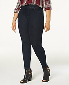HUE® Women's  Original Jean Plus Leggings, Created for Macy's