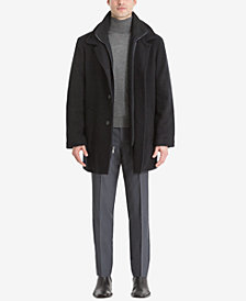 Calvin Klein Men's Big & Tall Coleman Overcoat