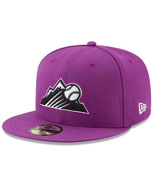 New Era Colorado Rockies Players Weekend 59FIFTY Fitted Cap