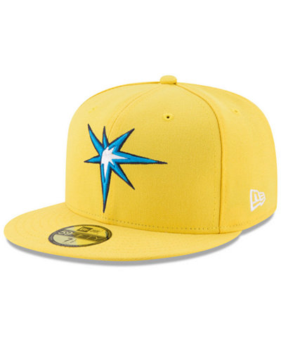 New Era Tampa Bay Rays Players Weekend 59FIFTY Fitted Cap - Sports ... 84a9472d459