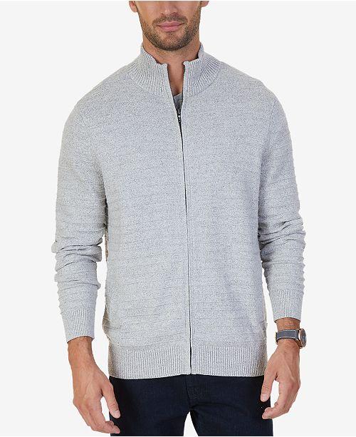 Nautica Men s Mock-Neck Full-Zip Cardigan Sweater   Reviews ... efd29d7e5