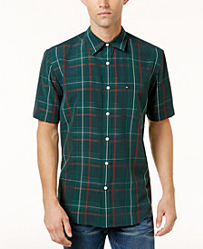 Quiksilver Men's Snap Jam Plaid Shirt