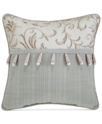 "CLOSEOUT! Caterina 16"" x 16"" Fashion Pillow"