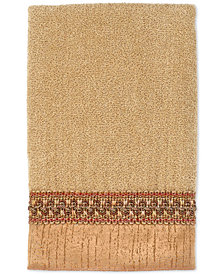 "Avanti ""Braided Cuff"" Wash Towel, 13x13"""