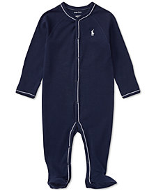 Ralph Lauren Cotton Coverall, Baby Boys