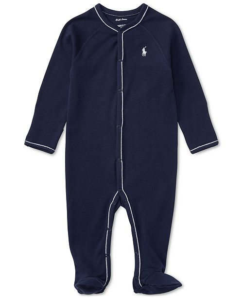 a06a26b049 Ralph Lauren Baby Boys Cotton Coverall