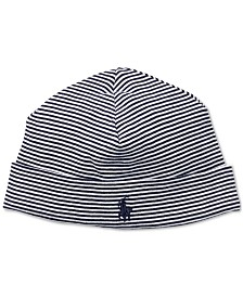 Ralph Lauren Baby Boys Striped Cotton Hat