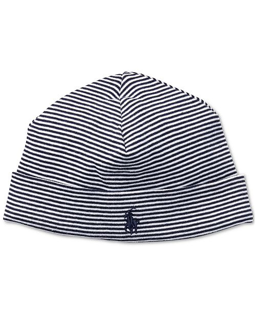 4e95f49a038 Polo Ralph Lauren Ralph Lauren Baby Boys Striped Cotton Hat ...