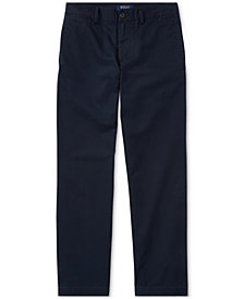 Polo Ralph Lauren Big Boys Suffield Flat-Front Pants