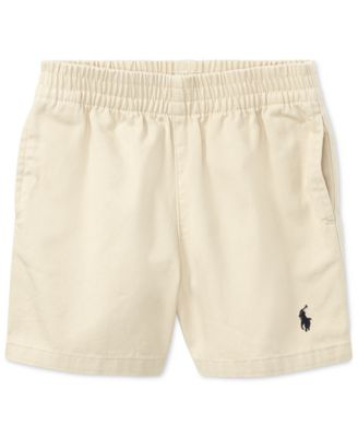 Product Details. Essential cotton twill short. Ralph Lauren baby boys shorts  ...
